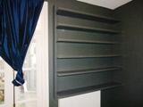 fancy design coloured shelves